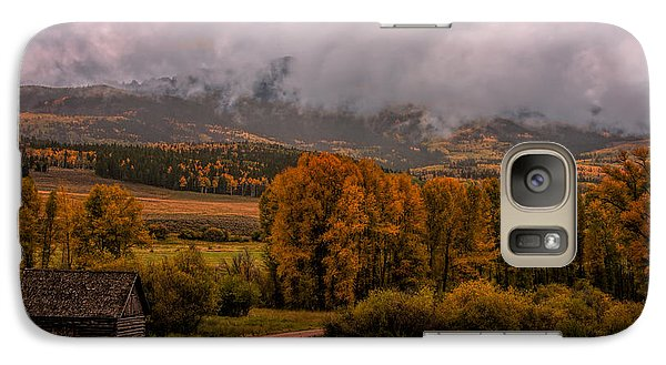 Galaxy Case featuring the photograph Beyond The Road by Ken Smith