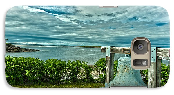 Galaxy Case featuring the photograph Biddeford Pool Bell by Brenda Jacobs