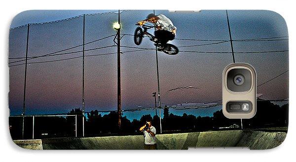 Galaxy Case featuring the photograph Big Air by Joel Loftus