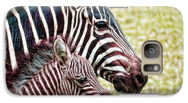 Galaxy Case featuring the photograph Big And Little by Jaki Miller