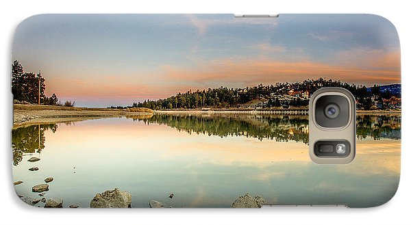 Galaxy Case featuring the photograph Big Bear Lake by Robert  Aycock