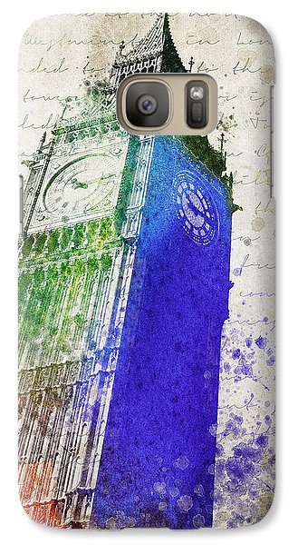 Big Ben Galaxy S7 Case by Aged Pixel