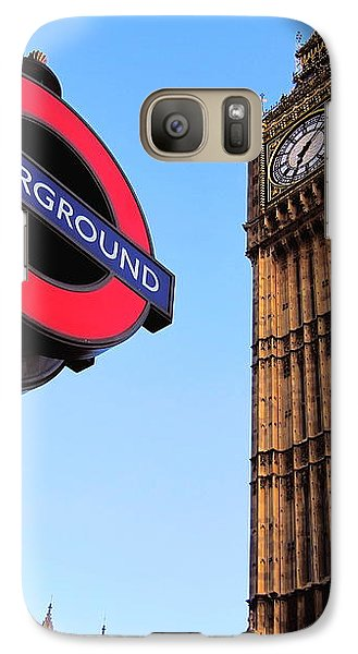 Galaxy Case featuring the photograph London Big Ben by Andreas Thust