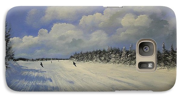 Galaxy Case featuring the painting Big Ben by Ken Ahlering