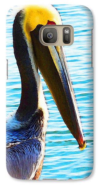 Big Bill - Pelican Art By Sharon Cummings Galaxy S7 Case