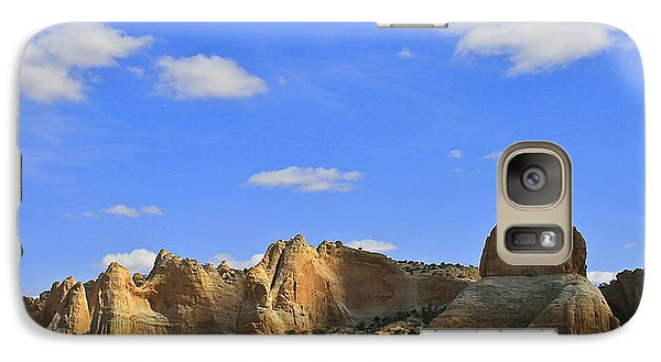 Galaxy Case featuring the photograph Big Blue Sky by Kathleen Scanlan