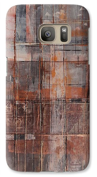 Galaxy Case featuring the painting Big Box Town by Buck Buchheister