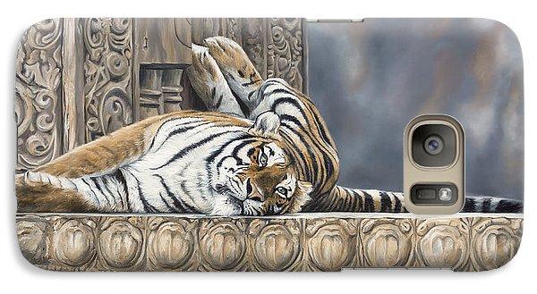 Big Cat Galaxy S7 Case by Lucie Bilodeau
