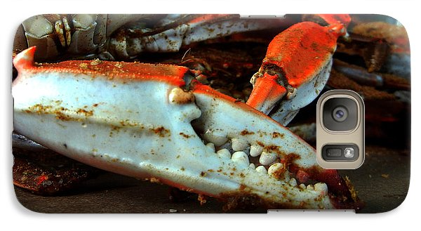 Galaxy Case featuring the photograph Big Crab Claw by Bill Swartwout