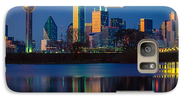 Big D Reflection Galaxy S7 Case by Inge Johnsson