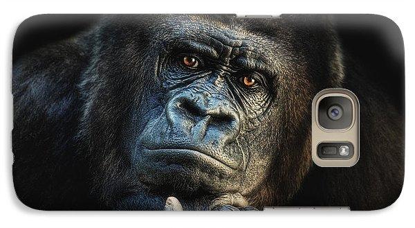 Gorilla Galaxy S7 Case - Big Dreamer by Joachim G Pinkawa