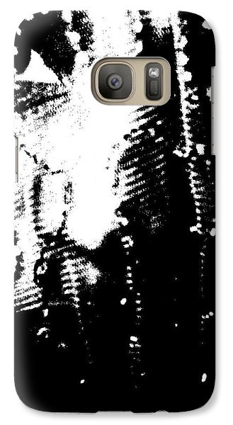 Galaxy Case featuring the photograph Big Eye Girl by Cleaster Cotton