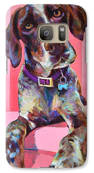 Galaxy Case featuring the painting Big Hank by Robert Phelps