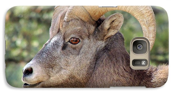Galaxy Case featuring the photograph Big Horn by Lynn Sprowl