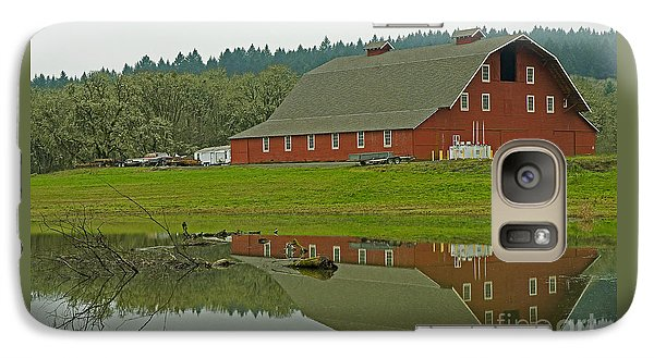 Galaxy Case featuring the photograph Big Red by Nick  Boren