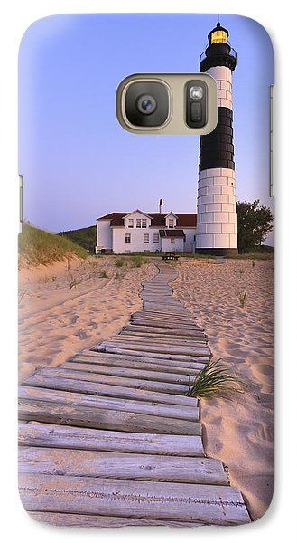 Big Sable Point Lighthouse Galaxy S7 Case by Adam Romanowicz