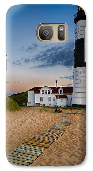 Big Sable Point Lighthouse Galaxy S7 Case by Sebastian Musial