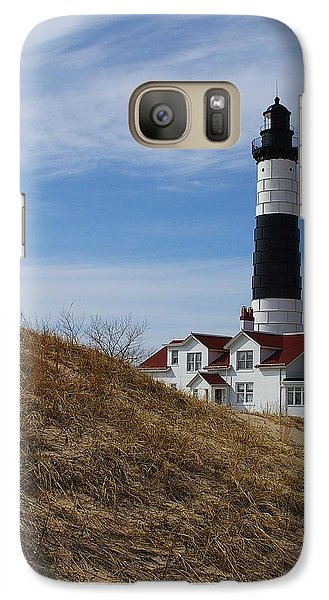 Galaxy Case featuring the photograph Big Sable by Randy Pollard