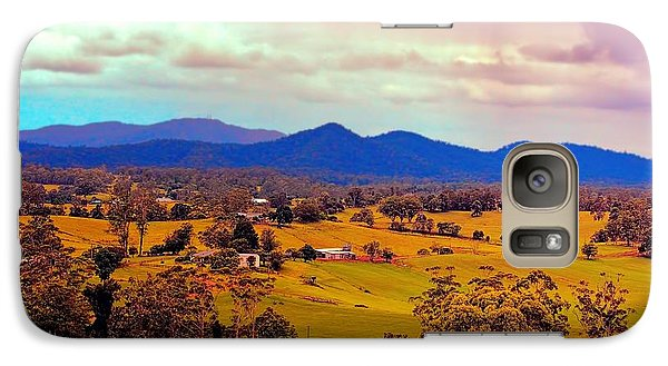 Galaxy Case featuring the photograph Big Sky Country by Wallaroo Images