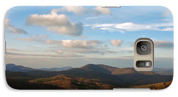 Galaxy Case featuring the photograph Big Sky In Cashiers by Allen Carroll