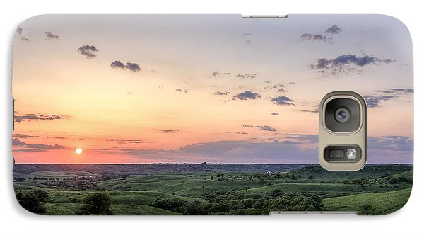 Galaxy Case featuring the photograph Big Sky by Scott Bean