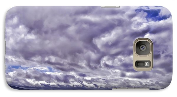 Galaxy Case featuring the photograph Big Spanish Sky by Don Schwartz