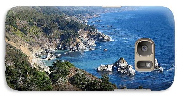 Galaxy Case featuring the photograph Big Sur Coast Ca by Debra Thompson