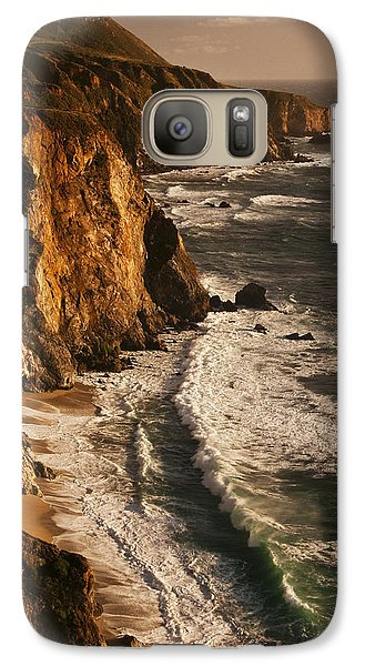 Galaxy Case featuring the photograph Big Sur Coast by Lee Kirchhevel
