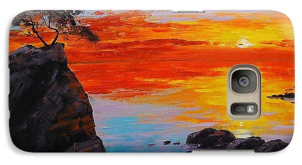 Big Sur Sunset Galaxy S7 Case