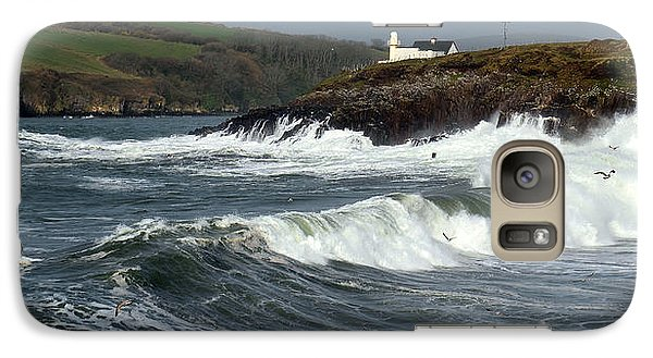 Galaxy Case featuring the photograph Big Swell In Dingle Bay by Barbara Walsh