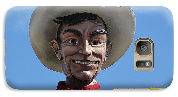 Galaxy Case featuring the photograph Big Tex by Charlie and Norma Brock