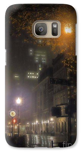 Galaxy Case featuring the photograph Bigga Mist by Robert McCubbin