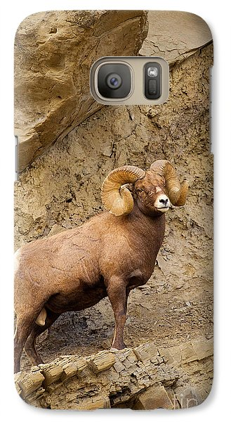 Galaxy Case featuring the photograph Bighorn  by Aaron Whittemore