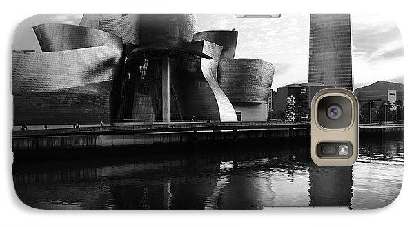 Galaxy Case featuring the photograph Bilbao 3 by Mariusz Czajkowski
