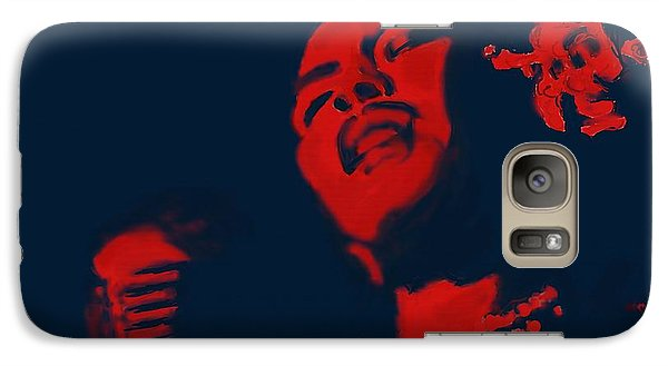 Galaxy Case featuring the painting Billie Holiday by Vannetta Ferguson