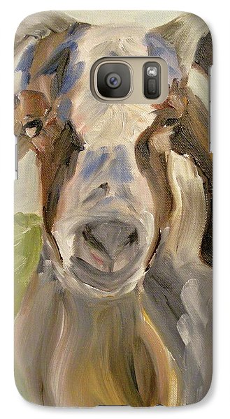Galaxy Case featuring the painting Billy by Donna Tuten