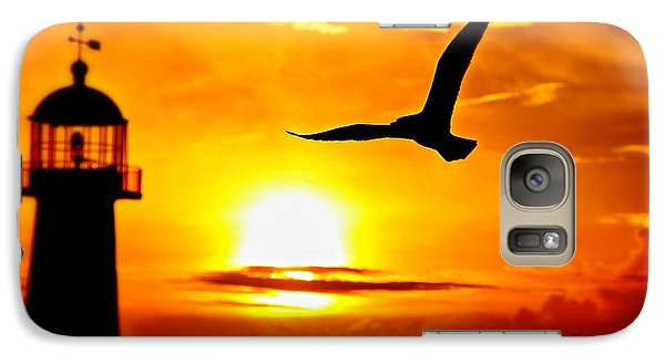 Galaxy Case featuring the photograph Biloxi Sunset by Jim Albritton