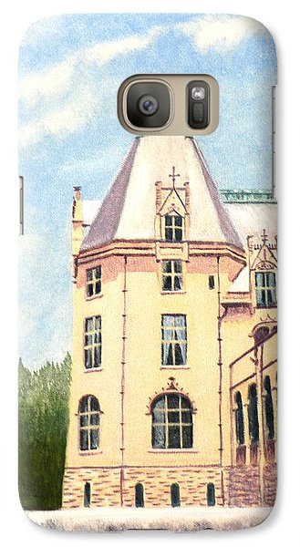 Galaxy Case featuring the painting Biltmore Balcony by Stacy C Bottoms
