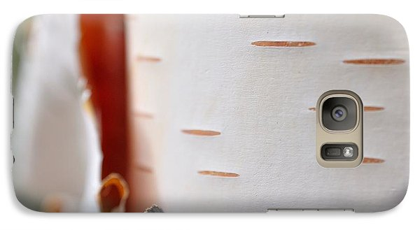 Galaxy Case featuring the photograph Birch Tree by Todd Soderstrom