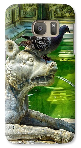 Galaxy Case featuring the digital art Bird Dog by Gregory Dyer