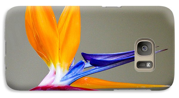 Galaxy Case featuring the digital art Bird Of Paradise Flower by Photographic Art by Russel Ray Photos