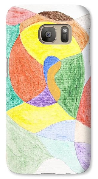 Galaxy Case featuring the painting Duck by Stormm Bradshaw