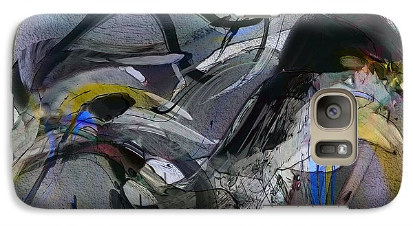 Galaxy Case featuring the digital art Bird That Wept With Me by Richard Thomas