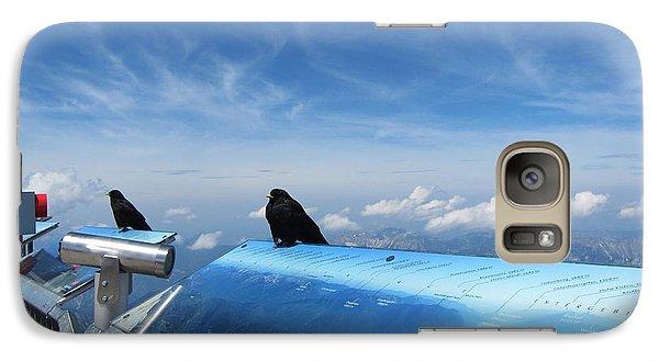Galaxy Case featuring the photograph Bird Watch by Pema Hou