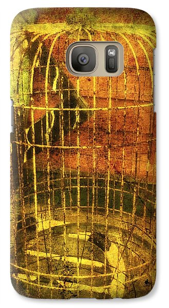 Galaxy Case featuring the photograph Birdcage by Clarity Artists