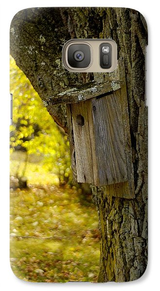 Galaxy Case featuring the photograph Birdhouse by Alex King