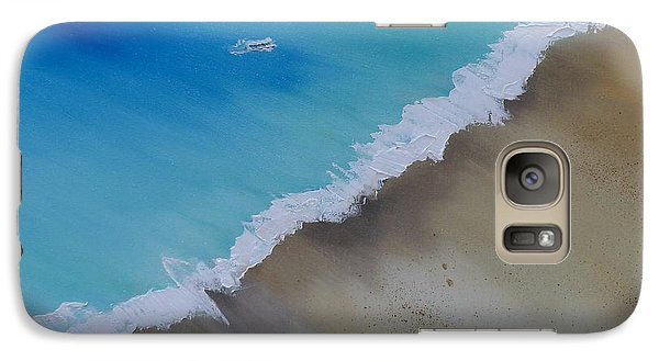 Galaxy Case featuring the painting Birds Eye View by Conor Murphy