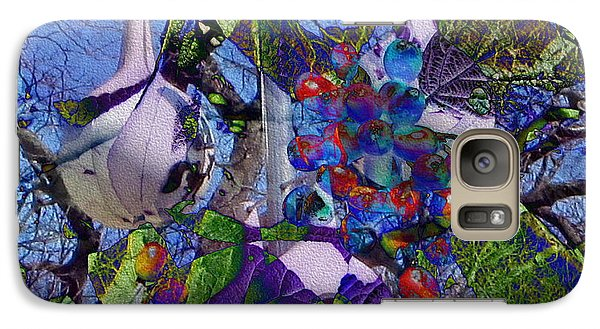 Galaxy Case featuring the photograph Bird's Eye View by Kathie Chicoine