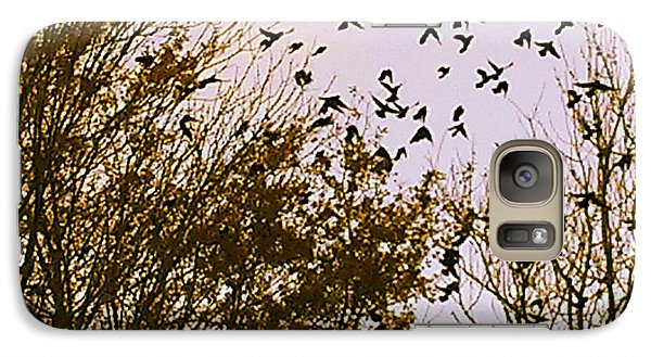 Birds Of A Feather Flock Together Galaxy S7 Case