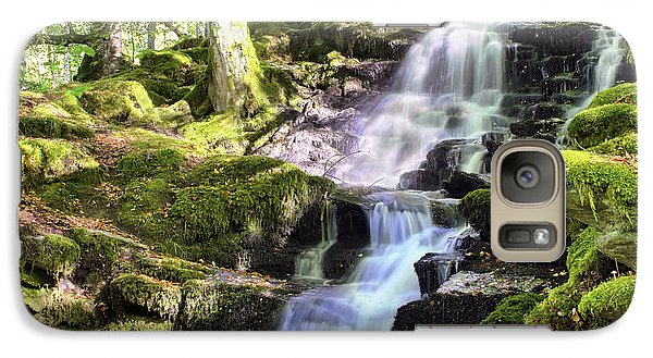 Birks Of Aberfeldy Cascading Waterfall - Scotland Galaxy S7 Case